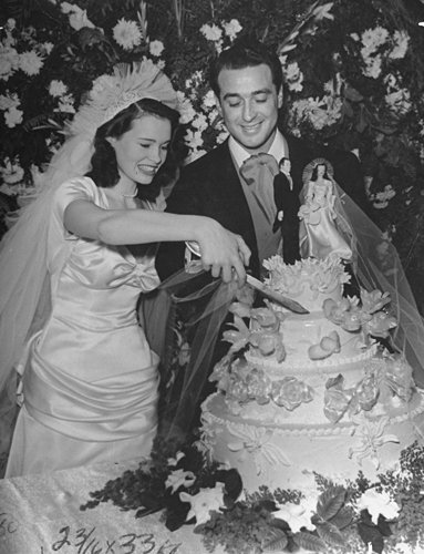 Pasquale di Cicco and Gloria Vanderbilt