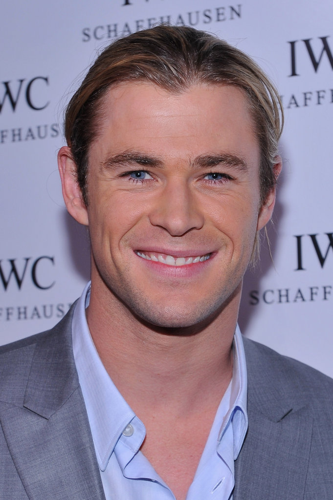 Chris Hemsworth attended an event in NYC.