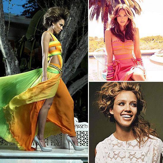 Jessica Alba Fashion Editorials