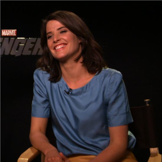 Cobie Smulders Clark Gregg Avengers Interview (Video)