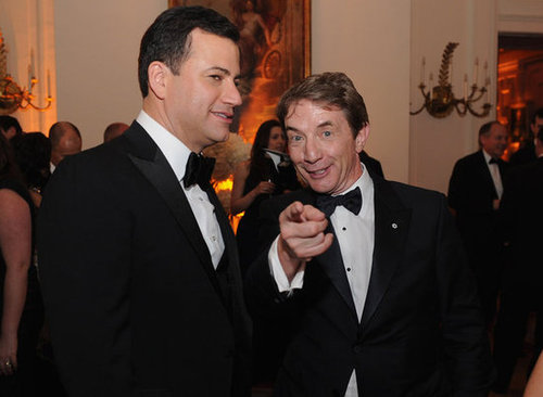 Martin Short joked around while hanging out with Jimmy Kimmel