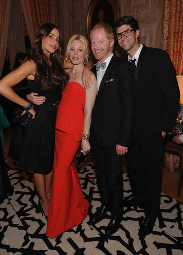 Sofia Vergara, Elizabeth Banks and Jesse Tyler Ferguson got together for a photo.