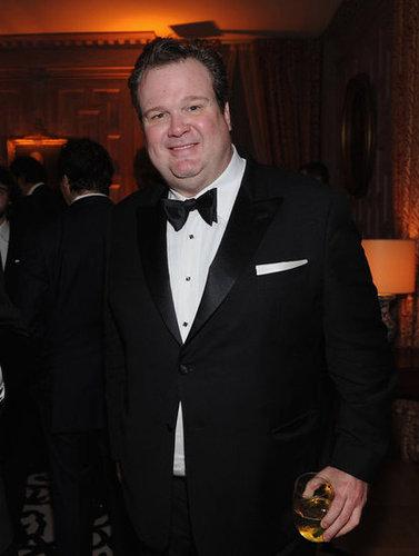 Eric Stonestreet arrived at the White House Correspondant's Dinner.