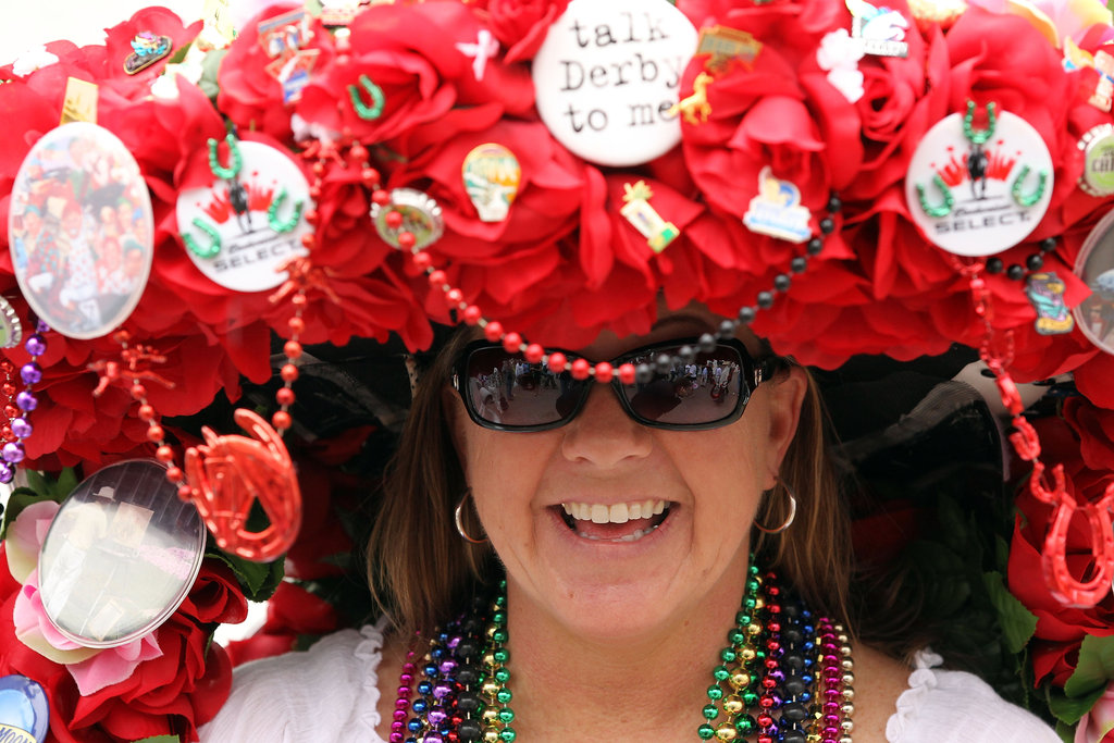 "In 2011, this hat asked people to ""talk Derby to me."""