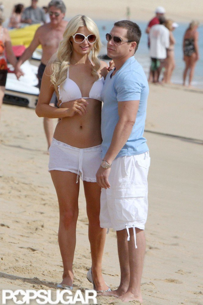 Paris Hilton spent a few days in Cabo in December 2010 with her then-boyfriend Cy Waits.