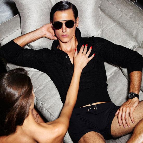 Ashton Kutcher Karl Lagerfeld Spoof, Tom Ford Spring 2012 Menswear Lookbook