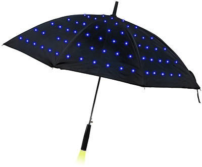 December isn't the only time to bust out LED lights. This Lumadot LED Umbrella ($30) keeps all eyes on you with its illuminated lights.