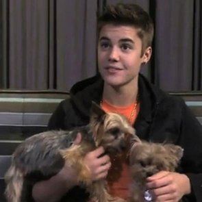 Justin Bieber and Ryan Seacrest Video