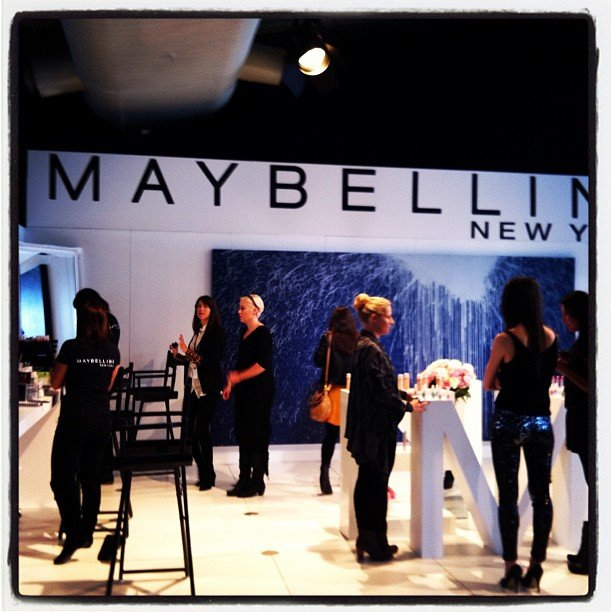Maybelline kept the fashion crowd looking beautiful all week.