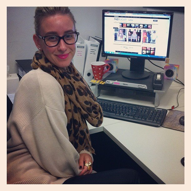 Our weekend editor Alison was on hand to help out during the week. Lifesaver!
