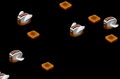 Flying Toaster Screen Saver