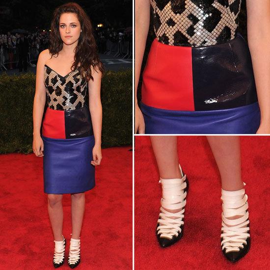 Kristen Stewart at Met Gala 2012