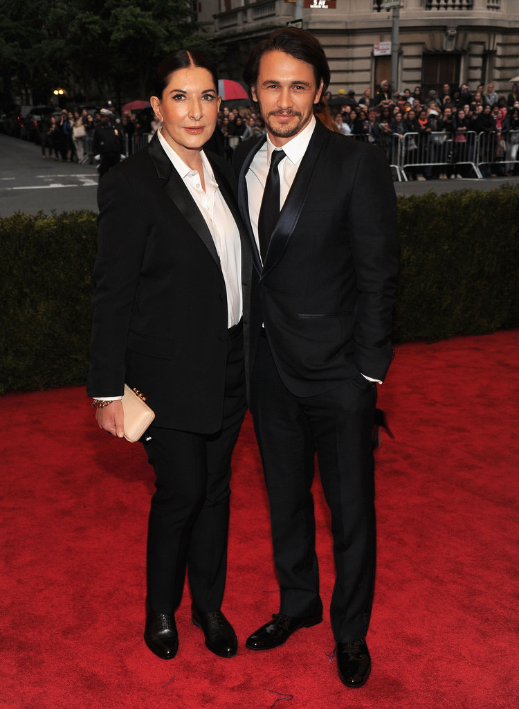 Marina Abramovic and James Franco