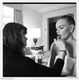 Kate Bosworth got ready with the help of her makeup artist prior to the party. Source: Kate Bosworth on WhoSay