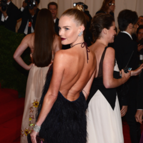 Sexy Backless Dresses at Met Gala 2012