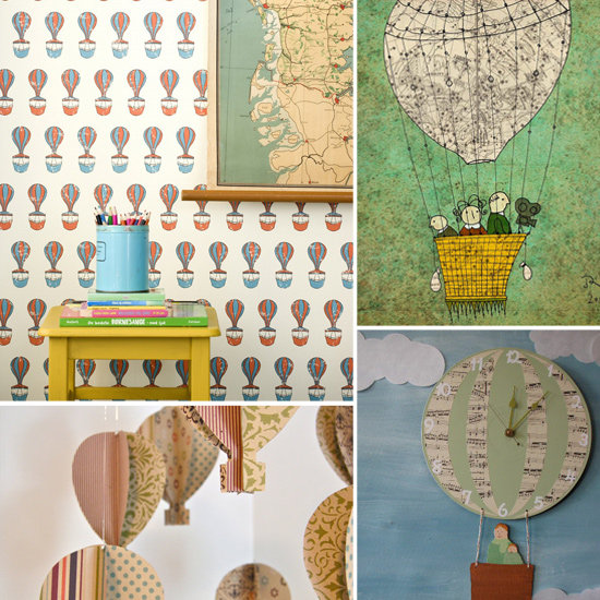 Up in the Air: 10 High-Flying Hot Air Balloon Finds For Lil Rooms