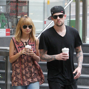 Nicole Richie and Joel Madden Pictures Getting Coffee in Sydney