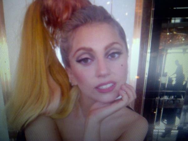 Lady Gaga said goodnight to her fans.
