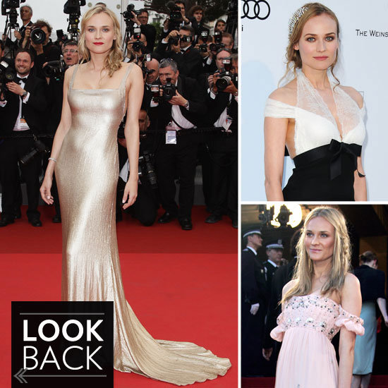 Over 30 Snaps of Diane Kruger's Impeccably Cool Cannes Film Fest Style — See It Here