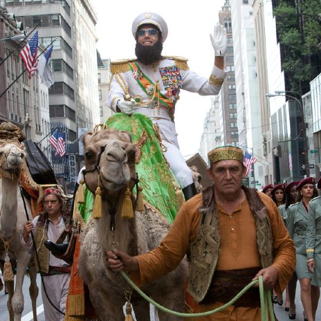 The Dictator Movie Review
