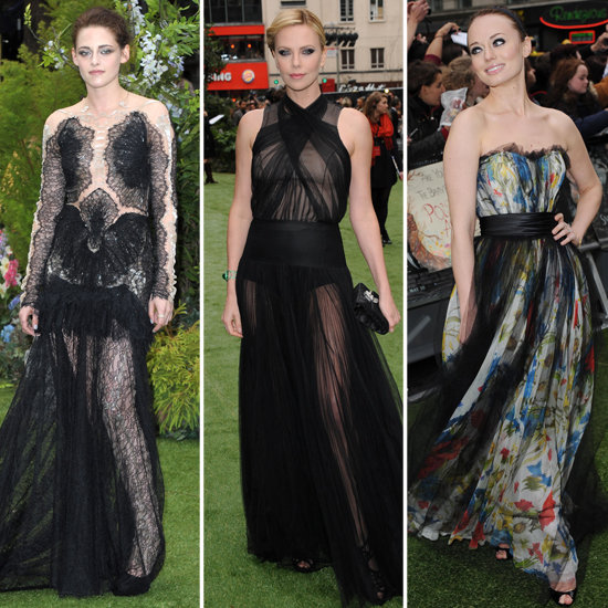 Kristen Stewart, Charlize Theron Snow White London Premiere