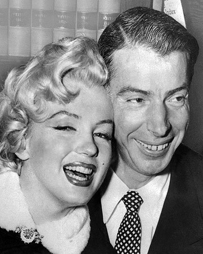 Joe DiMaggio and Marilyn Monroe's Front-Page Wedding