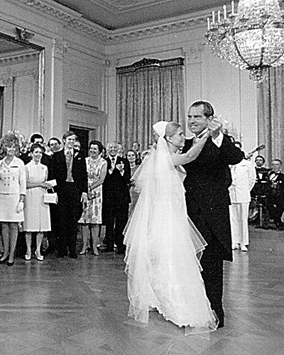 Tricia Nixon's Father-Daughter Dance