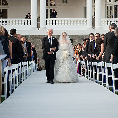 Bill and Chelsea Clinton's Wedding March