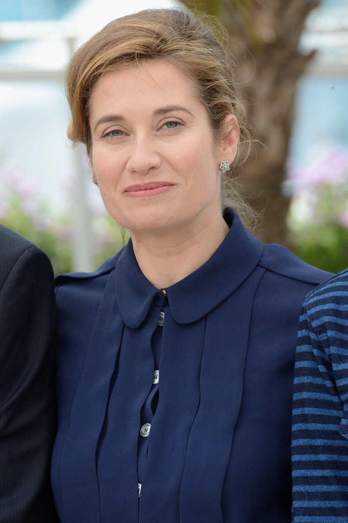 Emmanuelle Devos attended the jury photo call at the Cannes Film Festival.