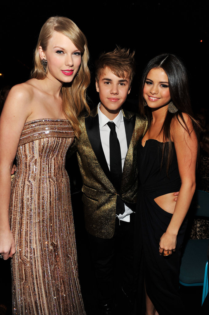 Taylor Swift, Justin Bieber, and Selena Gomez made a picture-perfect group in 2011.