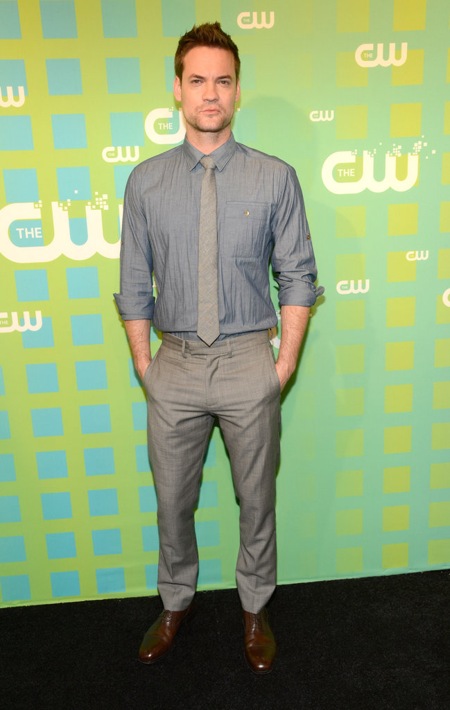 Nikita star Shane West suited up for the occasion.