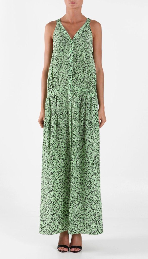 This just screams to be worn with a straw fedora during a sunny day in the park. Tibi Ciara Maxi Dress ($475)