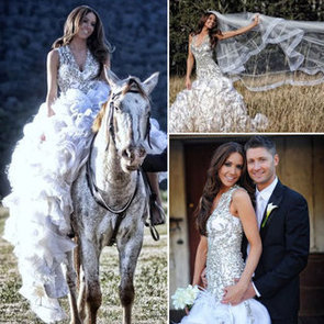 Michael Clarke Marries Kyly Boldy in Alex Perry Wedding Dress: See Pictures of Her Gorgeous Gown!