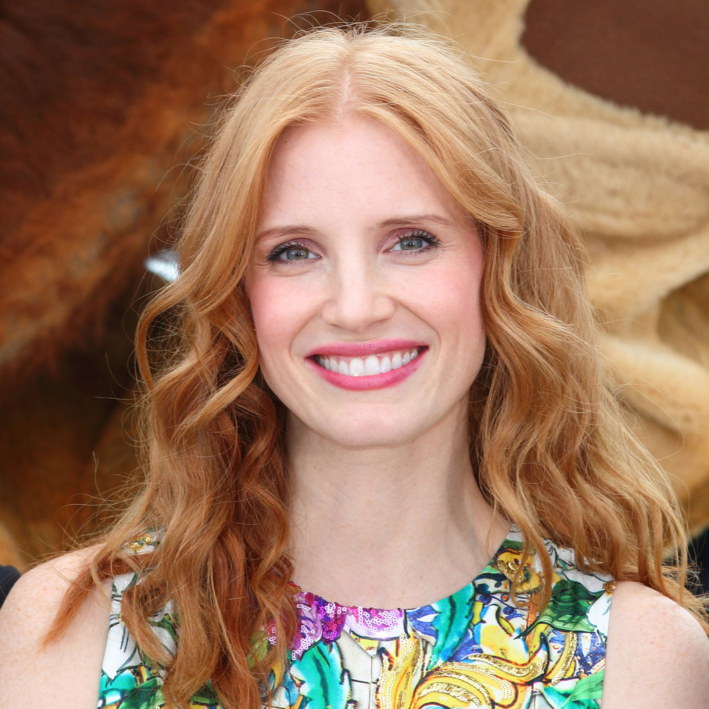 Jessica Chastain at the Madagascar 3 Photocall