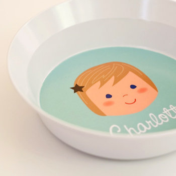 Sarah + Abraham Olliegraphic Bowl ($24)