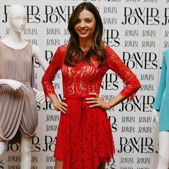 Celebrities in Red Dresses