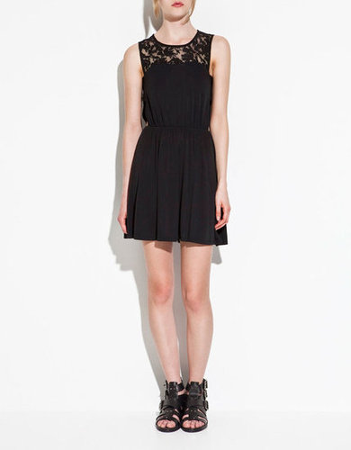 Zara's perfect Summer take on the LBD comes complete with a pretty lace inset.  Zara Dress With Lace Details ($50)
