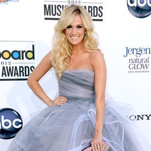 Carrie Underwood in Oscar de la Renta Dress Pictures at 2012 Billboard Music Awards