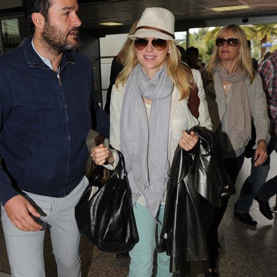Naomi Watts Mint Skinny Jeans