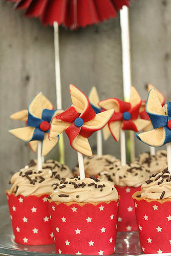 Make These: Vintage-Inspired Pinwheel Toppers