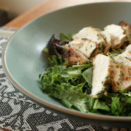 Grilled Chicken Salad Recipe With Herb Sherry Vinaigrette From ...