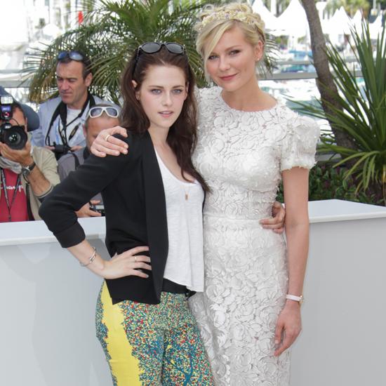 Kristen Stewart in Balenciaga in Cannes