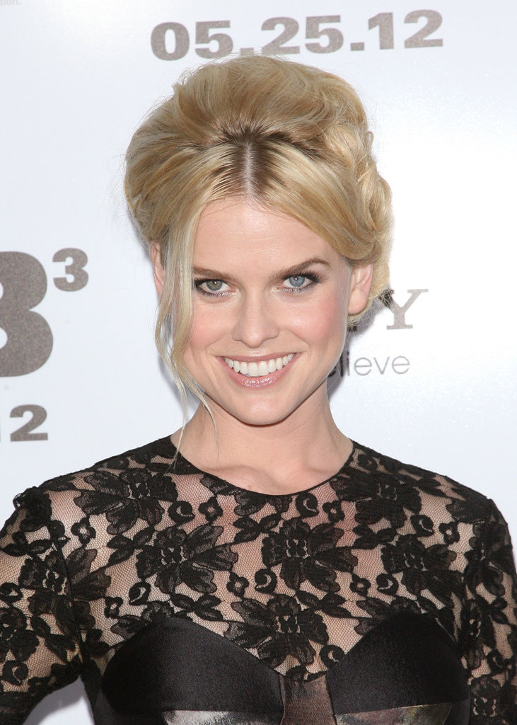 Alice Eve had on a smile at the Men in Black III premiere in NYC.