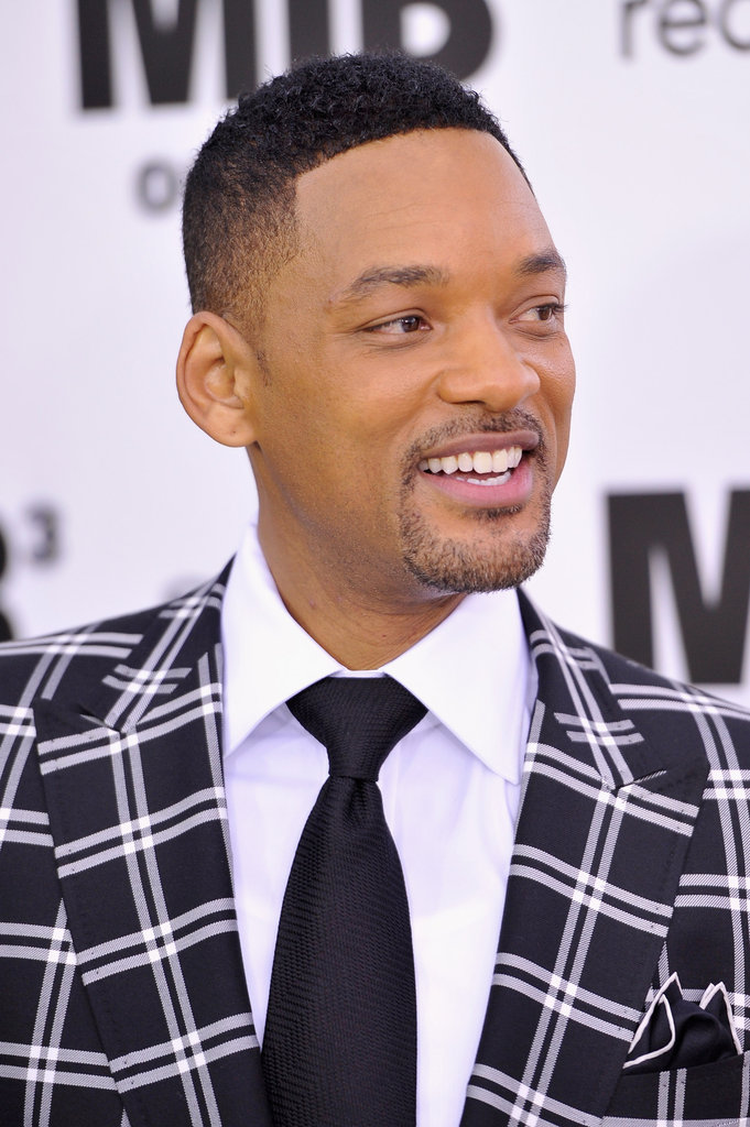 Will Smith had a big smile on for the Men in Black III premiere in NYC.