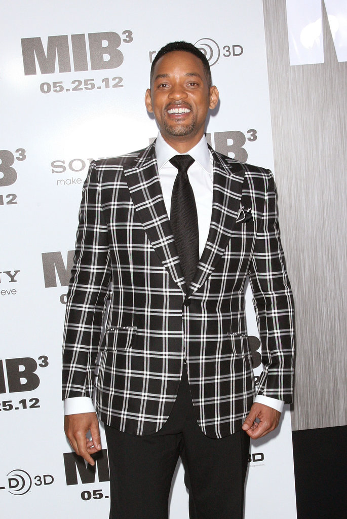 Will Smith had fun on the black carpet at the Men in Black III premiere in NYC.