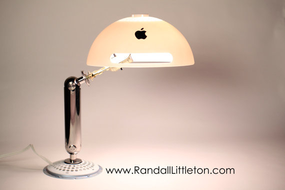 Upcycled iMac G4 Lamp ($125)
