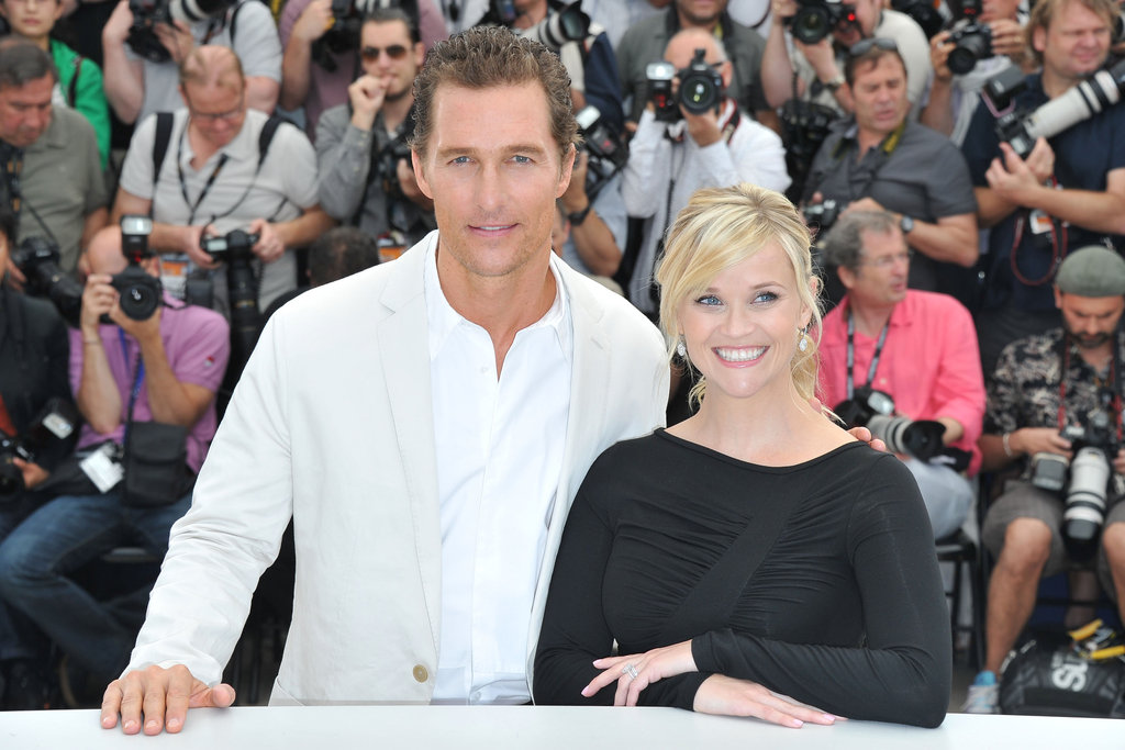 Witherspoon and Matthew McConaughey Reconnect in Cannes