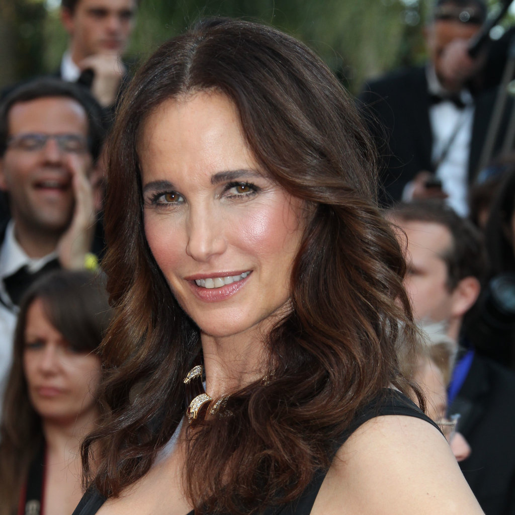Andie MacDowell at the Mud Premiere