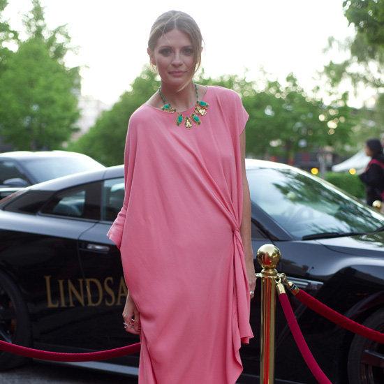 Mischa Barton Pink Dress