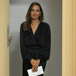 Angelina Jolie Pictures at In the Land of Blood and Honey London Screening